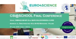 CSI@SCHOOL CONFERENCE POLAND